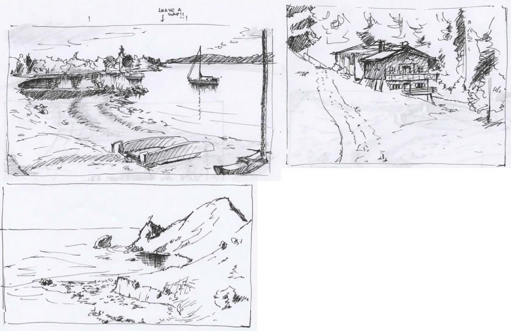 More Landscapes studies