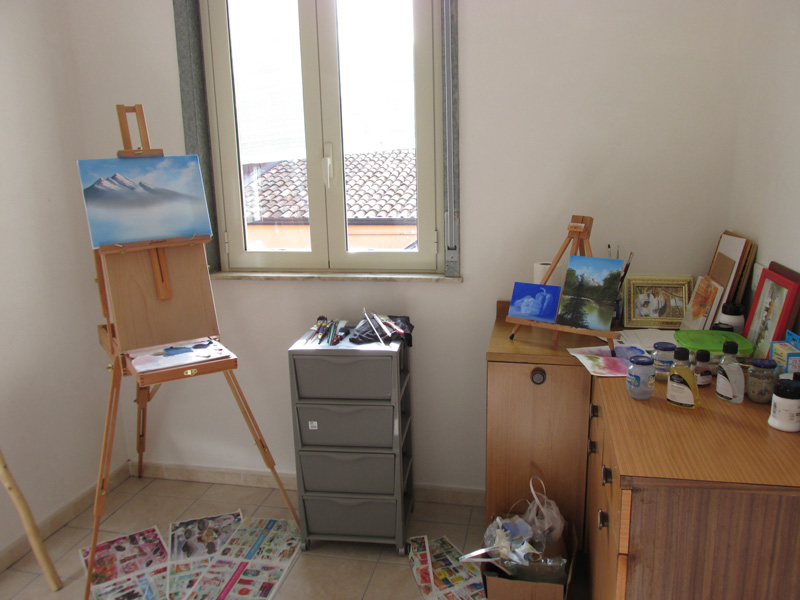 My new painting Studio