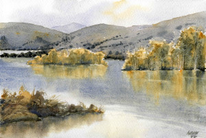 watercolor reflections exercise complete