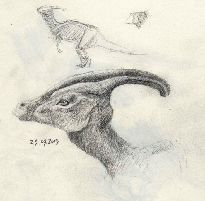 Dinosaurs Sketches 3