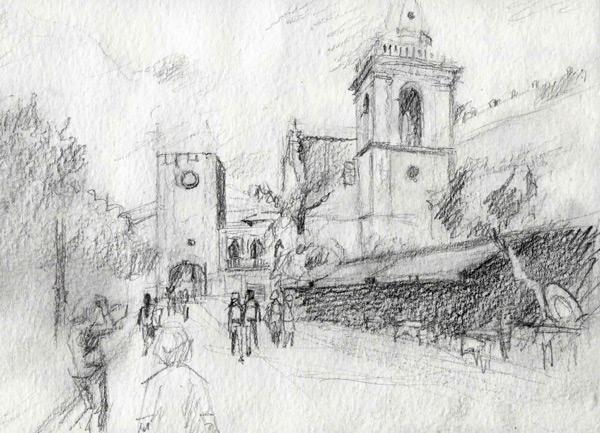Sketchwalk Taormina 2