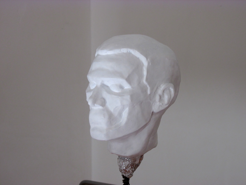 Planes of the head maquette 3/4