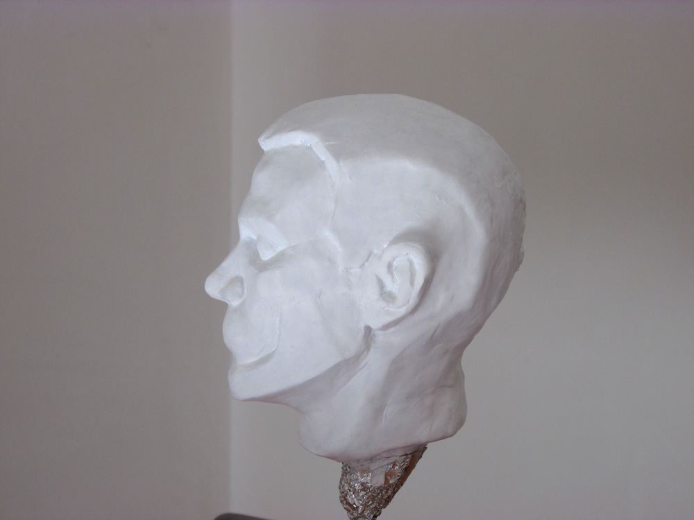 Planes of the head maquette Side