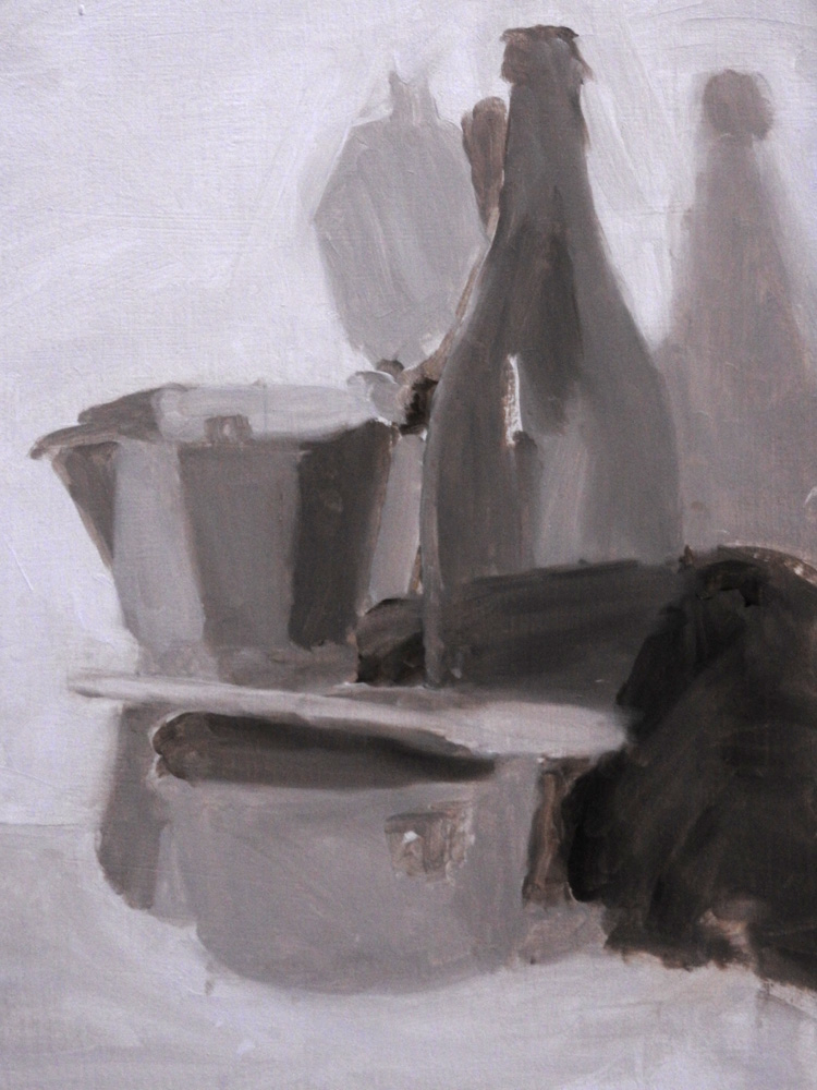 Still Life tone exercise - WIP 1