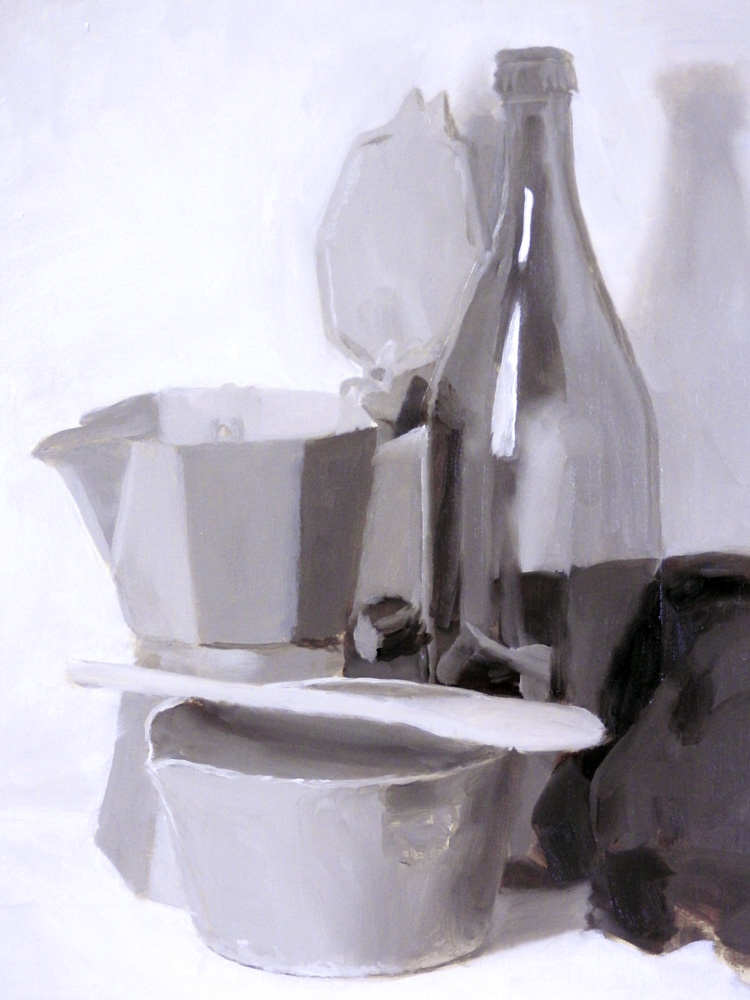 Still Life tone exercise - WIP 2