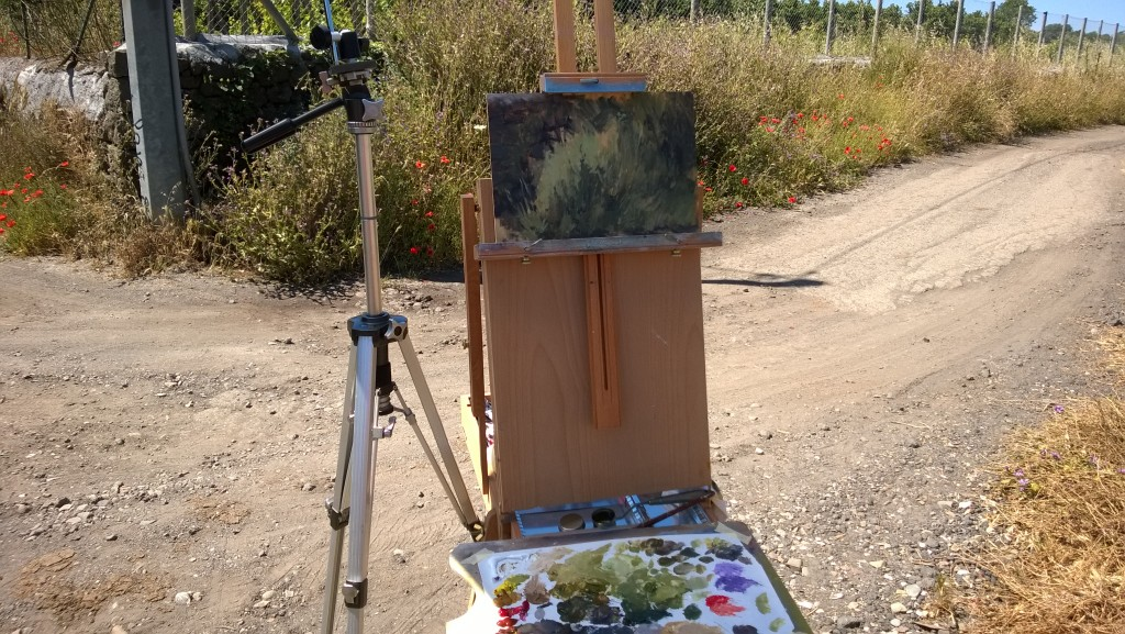 Weeds Painting Challenge WIP
