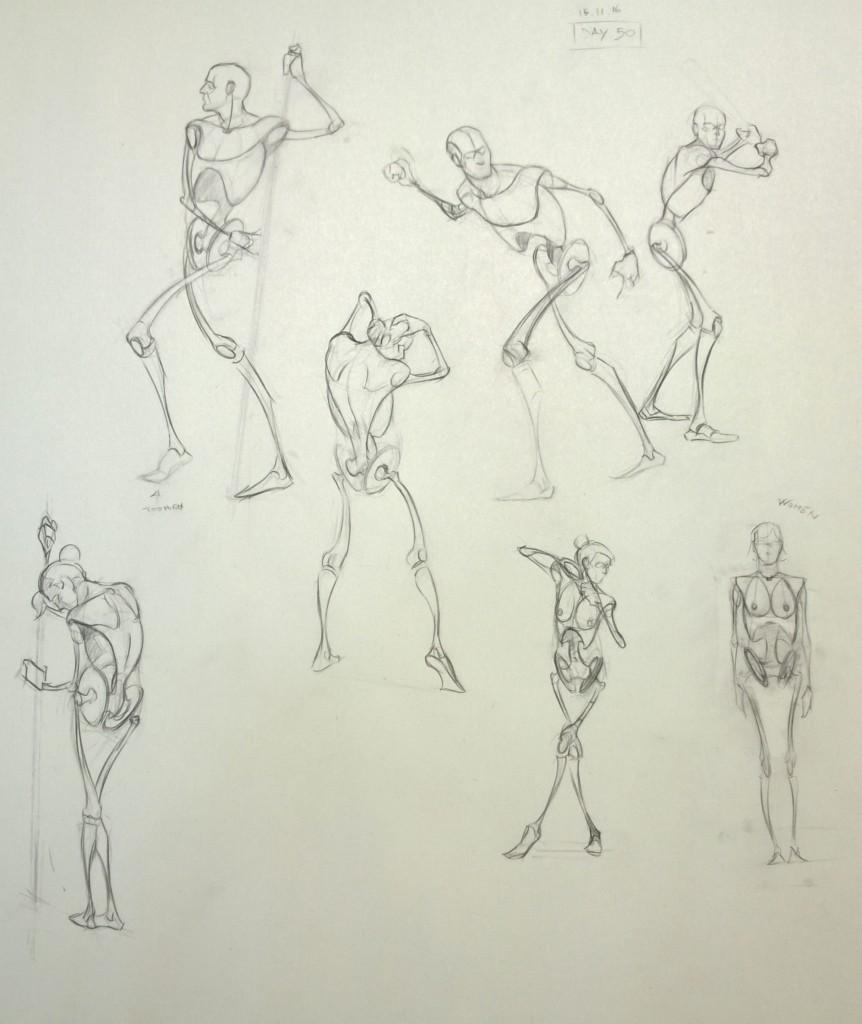 Skeleton Mannequins 3