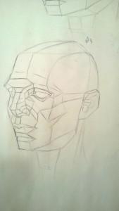 Classic Asaro Head - Complex 3/4
