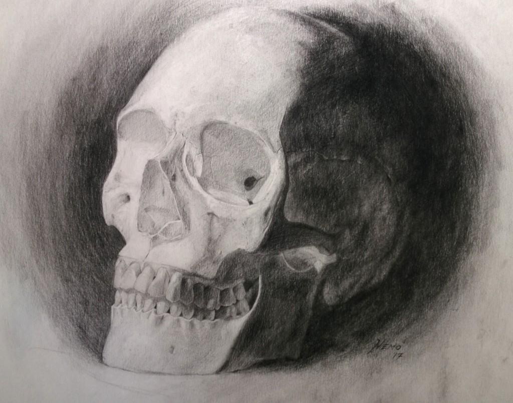 Watts Atelier Skill Building Challenge 20 Final Skull